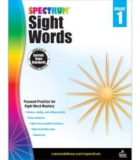 Spectrum Sight Words Grade. 1