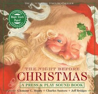 [해외]The Night Before Christmas Press & Play Storybook (Hardcover)