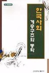 한국사회 계층구조와 동학