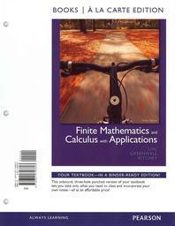 [해외]Finite Mathematics and Calculus with Applications [With Access Code] (Loose Leaf)