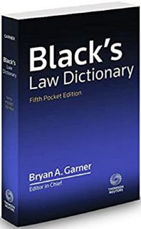 Black's Law Dictionary, Pocket Edition