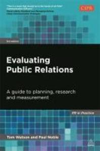 [해외]Evaluating Public Relations