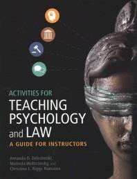 [해외]Activities for Teaching Psychology and Law (Paperback)
