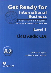 Get Ready For International Business Level. 1(Audio CD)