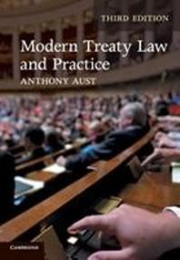 [해외]Modern Treaty Law and Practice