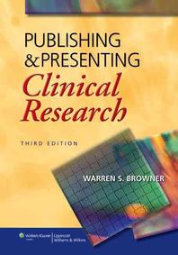 [해외]Publishing & Presenting Clinical Research