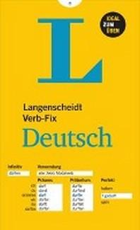 [해외]Langenscheidt Verb-Fix Deutsch - Deutsche Verben auf einen Blick - Ideal zum ?ben