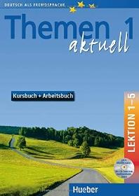 THEMEN AKTUELL 1: KURSBUCH + ARBEITSBUCH, LEKTION 1-5 [1 AUDIO-CD]