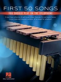 [해외]First 50 Songs You Should Play on Xylophone (Paperback)