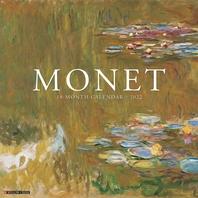 [해외]Monet Art 2022 Wall Calendar