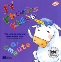 JY Phonics Kids. 6: The Long Vowels and More Vowel Pairs(CD2장포함)