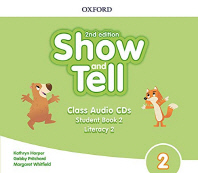 Show and Tell. 2 Class Audio CD