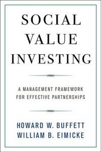 [해외]Social Value Investing (Hardcover)