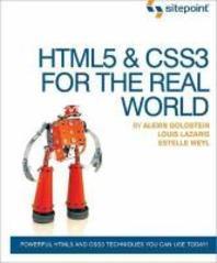 [해외]HTML5 & CSS3 in the Real World (Paperback)
