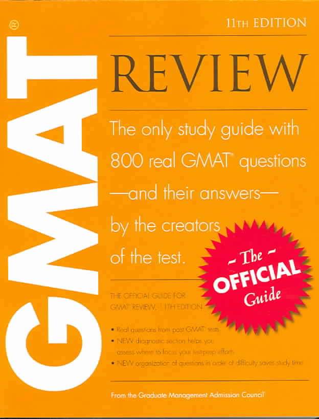 Official Guide for GMAT Review, 11/e