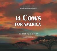 [해외]14 Cows for America (Hardcover)