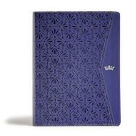[해외]CSB Tony Evans Study Bible, Purple Leathertouch, Indexed (Imitation Leather)