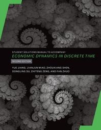 [해외]Student Solutions Manual to Accompany Economic Dynamics in Discrete Time, Second Edition