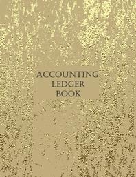 [해외]Accounting Ledger Book