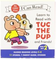 [해외]Learn to Read with Tug the Pup and Friends! Box Set 2 (Boxed Set)