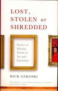 [해외]Lost, Stolen or Shredded, or Has Anyone Seen the Mona Lisa? (hardback)