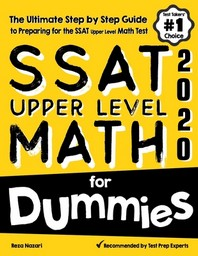 [해외]SSAT Upper Level Math for Dummies (Paperback)
