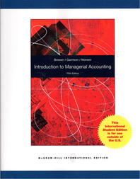 Introduction to Managerial Accounting 5/E (Paperback)