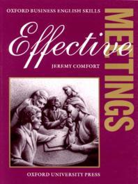 Effective Meetings Teachers Book