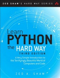 [해외]Learn Python the Hard Way (Paperback)