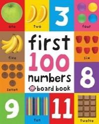 [해외]First 100 Numbers. (Hardcover)