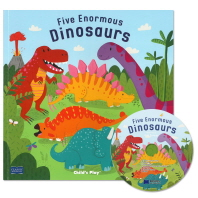 노부영 마더구스 Five Enormous Dinosaurs