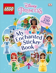 [해외]Lego Disney Princess My Enchanted Sticker Book