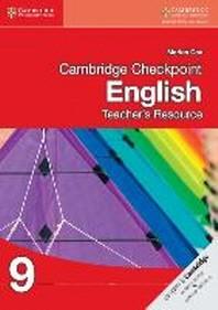 [해외]Cambridge Checkpoint English Teacher's Resource CD-ROM 9