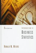 Introduction to Business Statistics, 3/E