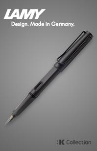 라미 사파리 만년필 - 차콜 블랙(:K Collection)