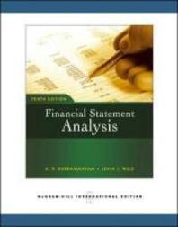 FINANCIAL STATEMENT ANALYSIS(TENTH EDITION)