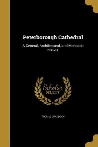 [해외]Peterborough Cathedral (Paperback)