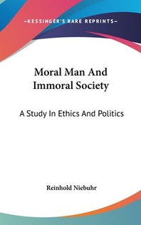 [해외]Moral Man And Immoral Society (Hardcover)