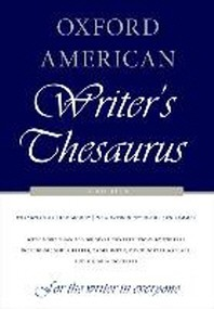 [해외]Oxford American Writer's Thesaurus