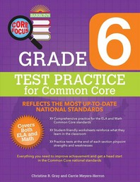 Test Practice for Common Core Grade. 6
