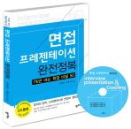 면접 프레젠테이션 완전정복(CD1장포함)