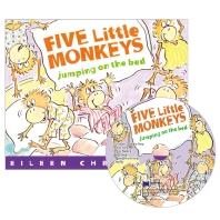 [노부영] 세이펜 Five Little Monkeys Jumping on the Bed (원서 & CD)
