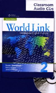 World Link Classroom Audio CDS. 2