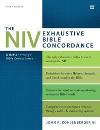 [해외]The NIV Exhaustive Bible Concordance, Third Edition
