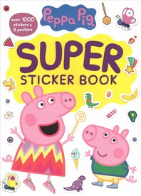 [해외]Peppa Pig Super Sticker Book (Peppa Pig)