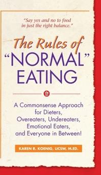 [해외]The Rules of Normal Eating (Hardcover)