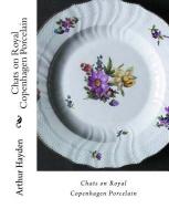 Chats on Royal Copenhagen Porcelain