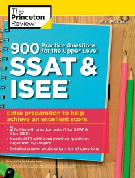 900 Practice Questions for the Upper Level SSAT & Isee(Paperback)