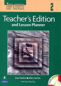 Teacher's Edition and Lesson Planner (TOP NOTCH 2)(CD 1장 포함포함)(To