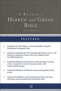 [해외]A Reader's Hebrew and Greek Bible